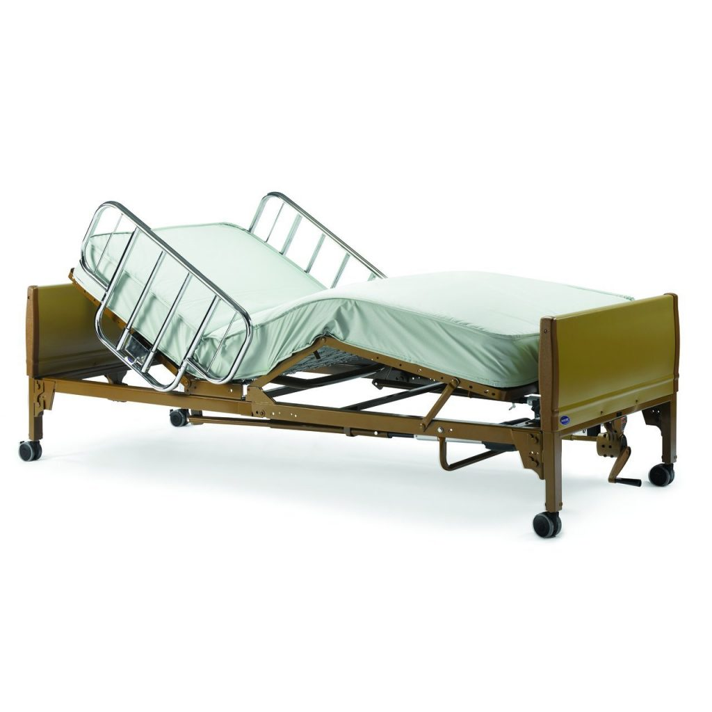 Full electric invacare bed