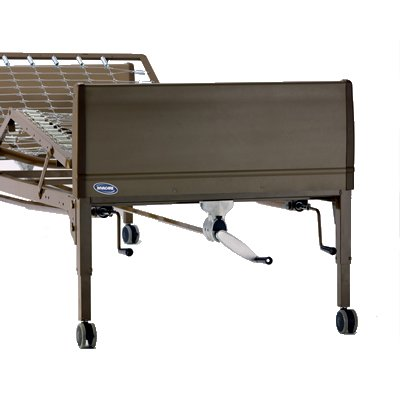 invacare manual bed