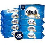 cottonelle freshcare flushable wipes