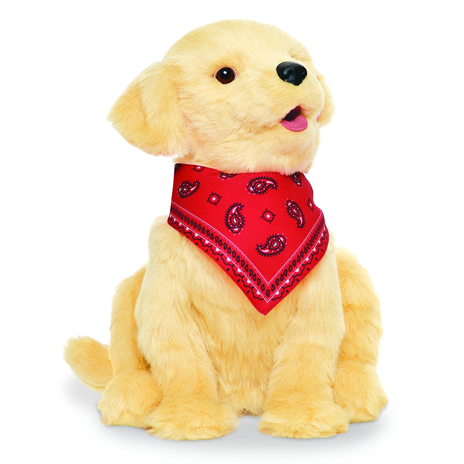 joy for all golden robotic puppy