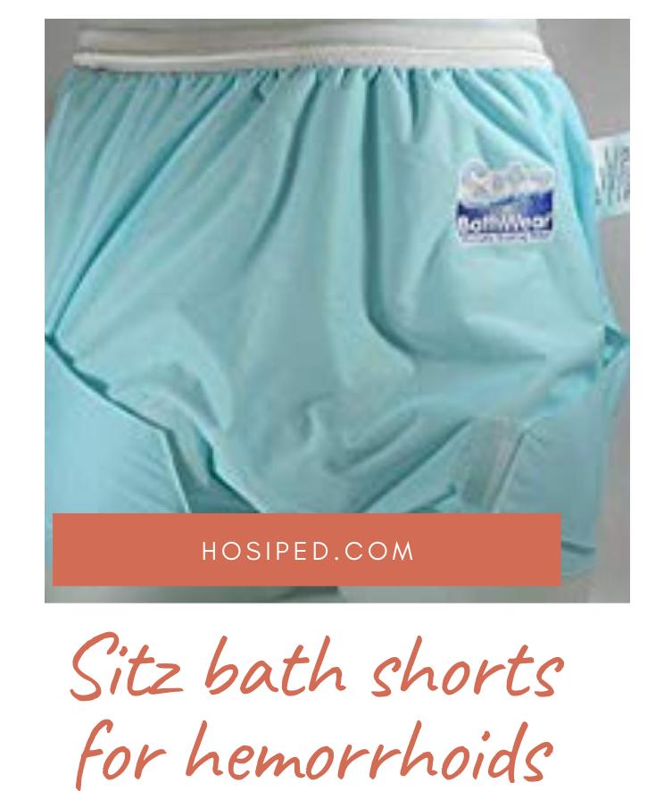 sitz bath shorts for hemorrhoids