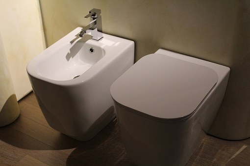 bidet fitted toilet for disabled unable to wipe bum