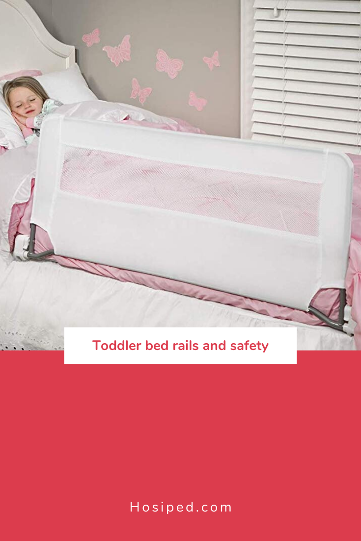 Safety bed rails for toddlers