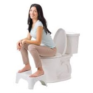 using a squatty potty in the toiletwhen you have hemorrhoids