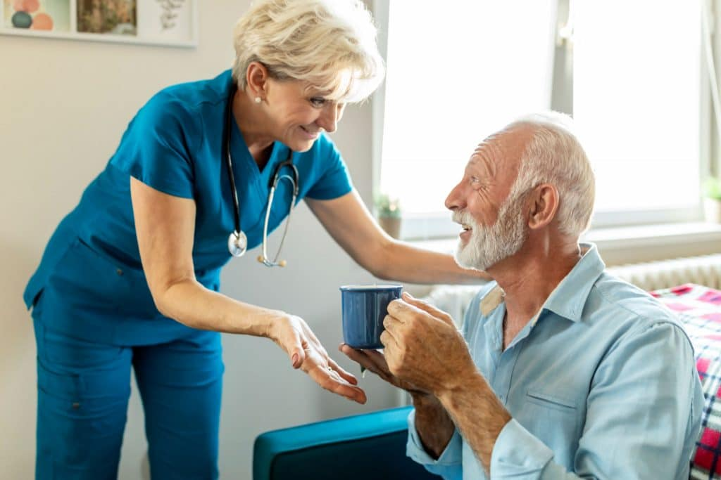 hospice work can be done at home